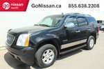This Black 4 door SLE, 4WD, 7 PASS, REAR CLIMATE, POWER SEAT! SUV features a Black interior a 6 Spd Automatic transmission, a  5.3L  V 8 engine, and has 239810 kilometres on it.