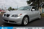 This Silver 4 door 550i - Loaded - RWD - Hot Deal Sedan features  a 6 Spd Automatic transmission, a  4.8L  V 8 engine, and has 130540 kilometres on it.