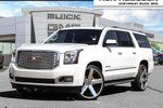 This White 4 door Denali SUV features a Black interior a 8 Spd Automatic transmission, a  6.2L  V 8 engine, and has 16578 kilometres on it.