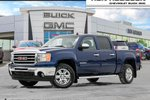 This Blue 4 door SLT LOW KMS MINT TRUCK LOADED Pickup features a Black interior a 6 Spd Automatic transmission, a  5.3L  V 8 engine, and has 82062 kilometres on it.