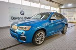 This Blue 4 door M40i SUV features a White interior a 8 Spd Automatic transmission, a  3.0L  I 6 engine, and has 90 kilometres on it.