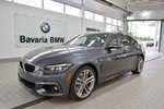 This Grey 4 door xDrive Gran Coupe Hatchback features a Red interior a 8 Spd Automatic transmission, a  3.0L  I 6 engine, and has 888 kilometres on it.