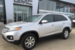 This Silver 4 door LX - AWD! Ready For Road Trips! SUV features a Black interior a 6 Spd Automatic transmission, a  2.4L  I 4 engine, and has 115504 kilometres on it.