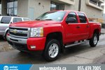 This Red 4 door LT 4X4 CREW CAB / LOW KM'S / NO FEES / WE FINANCE Pickup features  a Automatic transmission, a  5.3L  V 8 engine, and has 59101 kilometres on it.