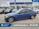 This Blue 4 door CAR Sedan features a Black interior a Automatic transmission, a  3.0L  I 6 engine, and has 77960 kilometres on it.