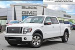 This White 4 door FX4 4x4 SuperCrew Cab 5.5 ft. box 145 in. WB Pickup features a Black interior a 6 Spd Automatic transmission, a  3.5L  V 6 engine, and has 141394 kilometres on it.