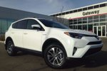 This White 4 door XLE 4dr All-wheel Drive SUV features a Black interior a CVT transmission, a  2.5L  I 4 engine, and has 0 kilometres on it.