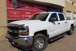 This White 4 door WT 4x4 Crew Cab / Back Up Camera Pickup features a Grey interior a 6 Spd Automatic transmission, a  5.3L  V 8 engine, and has 47918 kilometres on it.