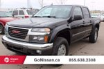 This Black 4 door SLE 4x4 Crew Cab 5 ft. box 126 in. WB Pickup features a Dark Grey interior a 4 Spd Automatic transmission, a  3.7L  I 5 engine, and has 136098 kilometres on it.