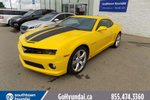 This Yellow 2 door Leather/Sunroof/Bluetooth Coupe features a Black interior a 6 Spd Automatic transmission, a  6.2L  V 8 engine, and has 15548 kilometres on it.
