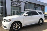 This White 4 door R/T - AWD! Leather, Sunroof, Navigation SUV features a Black interior a 8 Spd Automatic transmission, a  5.7L  V 8 engine, and has 106547 kilometres on it.