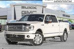 This White 4 door Limited 4x4 SuperCrew Cab 5.5 ft. box 145 in. WB Pickup features a Black interior a 6 Spd Automatic transmission, a  6.2L  V 8 engine, and has 53434 kilometres on it.