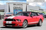 This Red 2 door Shelby GT500 Convertible features a Black interior a 6 Spd Manual transmission, a  5.4L  V 8 engine, and has 109907 kilometres on it.