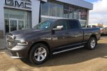 This Grey 4 door Sport - 4x4! 5.7L, Crew, Low KM's! Pickup features a Black interior a 8 Spd Automatic transmission, a  5.7L  V 8 engine, and has 19158 kilometres on it.