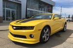 This Yellow 2 door 2SS Coupe features  a 6 Spd Automatic transmission, a  6.2L  V 8 engine, and has 18547 kilometres on it.