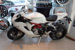 This White None door MV Augusta F3 Triple vehicle features  a Manual transmission, a  0.6L  I 3 engine, and has 0 kilometres on it.