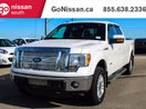 This White 4 door LEATHER, 4X4, NAVIGATION! Pickup features a Black interior a 6 Spd Automatic transmission, a  3.5L  V 6 engine, and has 86898 kilometres on it.
