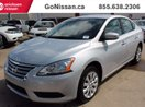 This Silver 4 door NISSAN CERTIFIED UNIT, Power Options, Great Value Sedan features a Black interior a CVT transmission, a  1.8L  I 4 engine, and has 56698 kilometres on it.