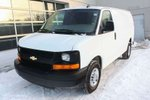This White 3 door CARGO VAN POWER GROUP LOW KM FINANCE AVAILABLE Cargo Van features a Light Brown interior a 6 Spd Automatic transmission, a  4.8L  V 8 engine, and has 16921 kilometres on it.