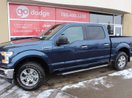 This Blue 4 door XLT 4x4 SuperCrew Cab / Back Up Camera Pickup features a Gray interior a 6 Spd Automatic transmission, a  3.5L  V 6 engine, and has 12180 kilometres on it.