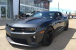 This Grey 2 door ZL1 Coupe features a Black interior  a  6.2L  V 8 engine, and has 12680 kilometres on it.