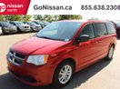 This Red 4 door SXT Passenger Van features a Black interior a Automatic transmission, a  3.6L  V 6 engine, and has 85691 kilometres on it.