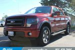 This Red 4 door FX4 - LEATHER - LOADED 4X4 Pickup features a Black interior a 6 Spd Automatic transmission, a  5.0L  V 8 engine, and has 38656 kilometres on it.