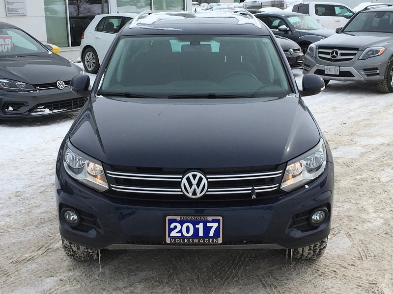 2017 Volkswagen Tiguan for sale in Thunder Bay, Ontario
