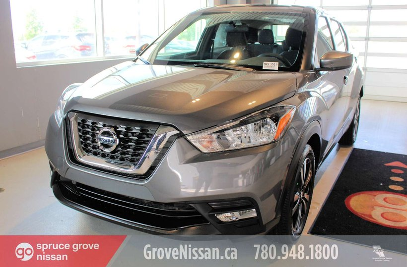 Grey 2019 Nissan Kicks SV for sale in Spruce Grove, Alberta