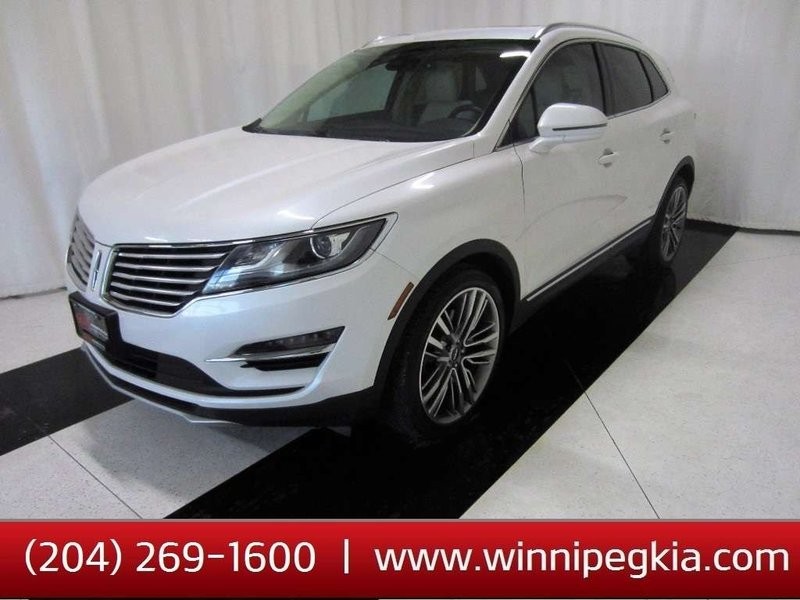 2015 Lincoln MKC for sale in Winnipeg, Manitoba