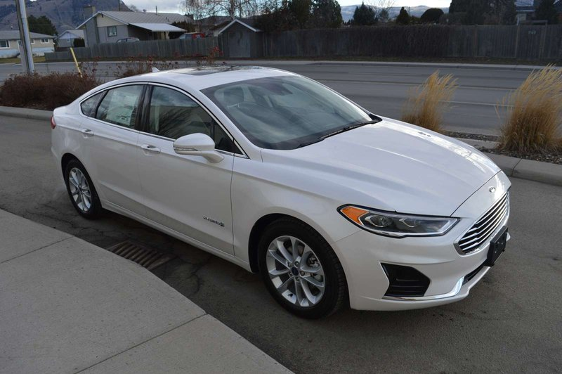 2019 Ford Fusion Hybrid for sale in Kamloops, British Columbia