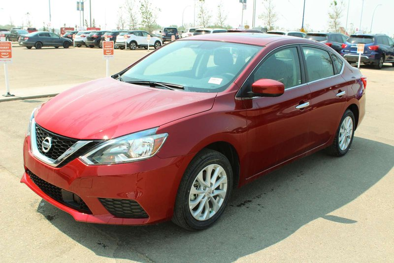 Red 2019 Nissan Sentra SV for sale in Edmonton, Alberta
