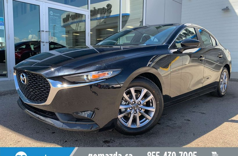 Black 2019 Mazda Mazda3 GX for sale in Edmonton, Alberta