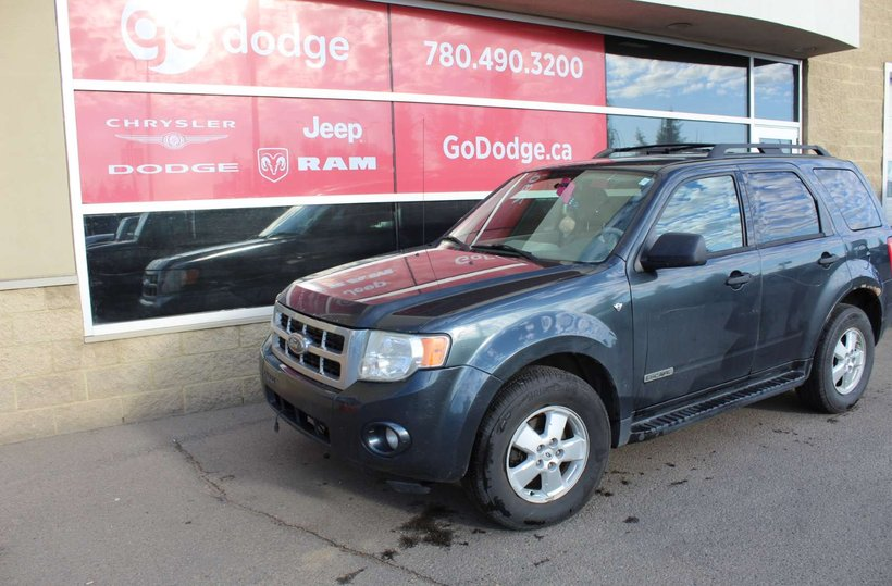 Grey 2008 Ford Escape XLT for sale in Edmonton, Alberta