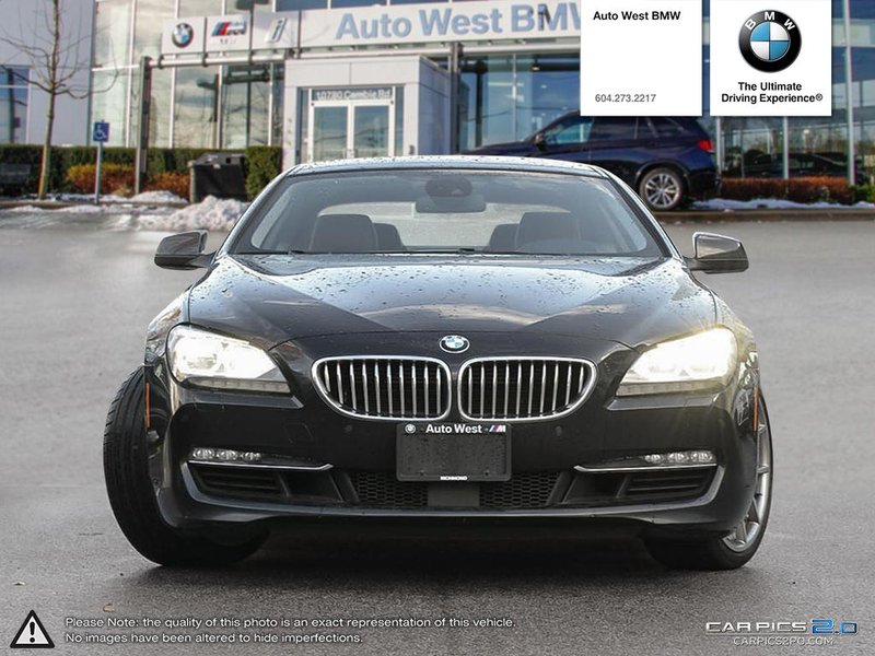 2012 BMW 6 Series for sale in Richmond, British Columbia