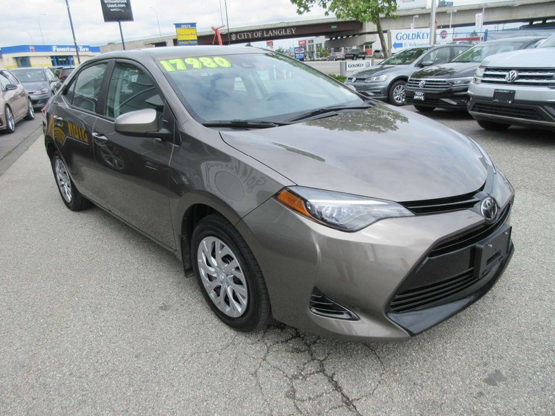 2018 Toyota Corolla for sale in Langley, British Columbia