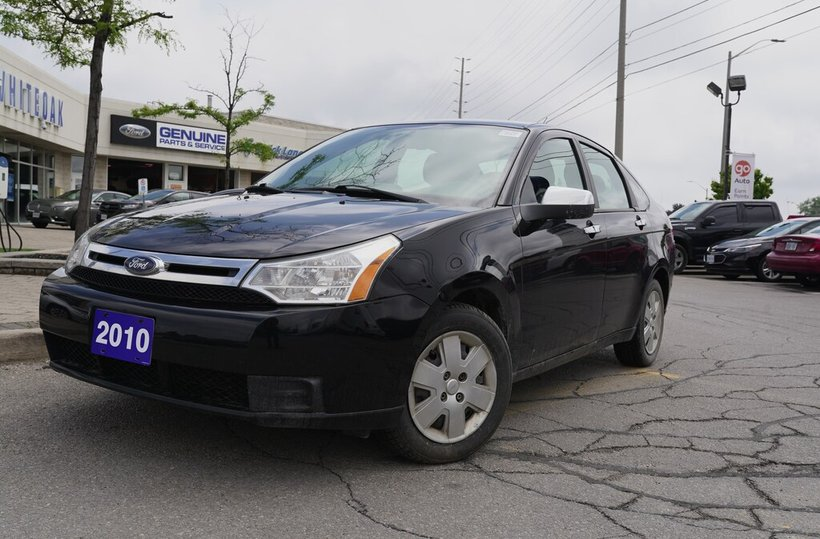 Black 2010 Ford Focus SE for sale in Mississauga, Ontario