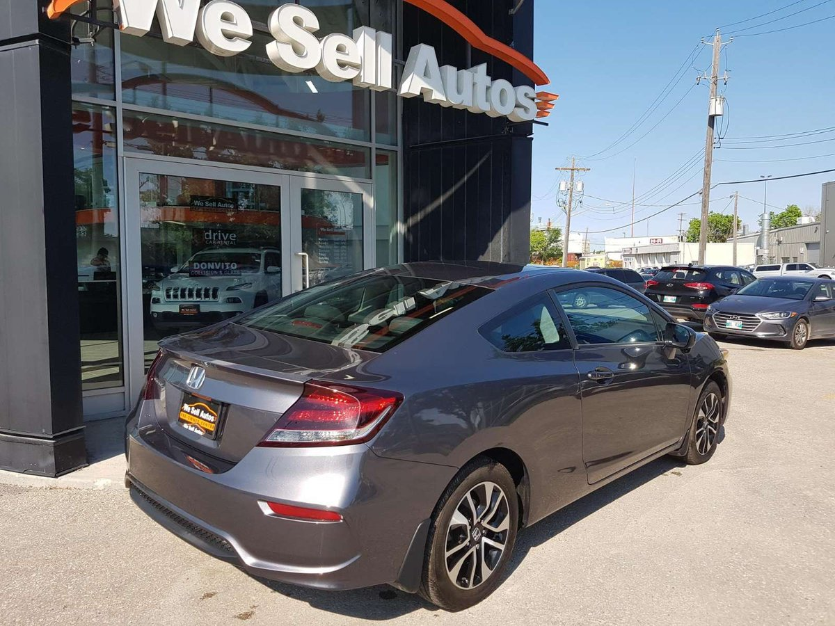 2015 Honda Civic Coupe for sale in Winnipeg, Manitoba