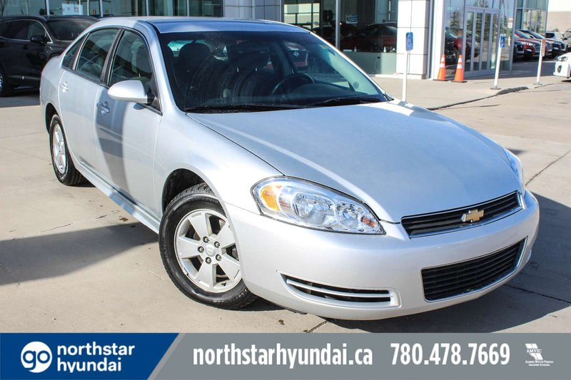 Silver 2011 Chevrolet Impala LT for sale in Edmonton, Alberta