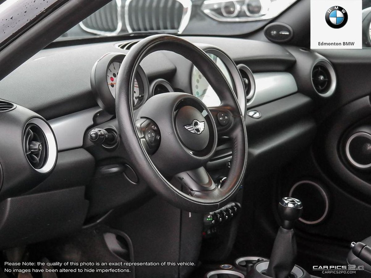 2012 MINI Cooper Coupe for sale in Edmonton, Alberta