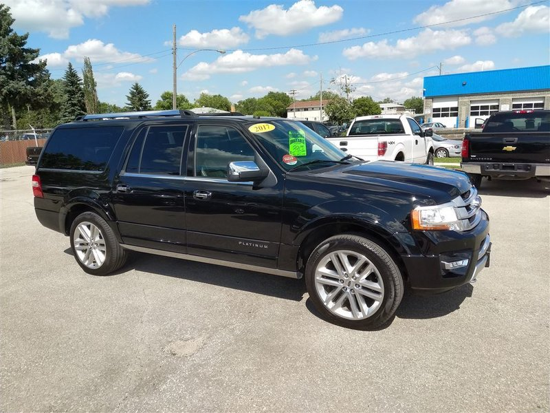 2017 Ford Expedition MAX for sale in Winnipeg, Manitoba