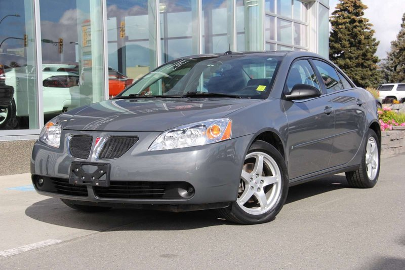 2009 Pontiac G6 for sale in Kamloops, British Columbia