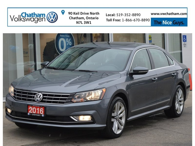 2016 Volkswagen Passat for sale in Chatham, Ontario