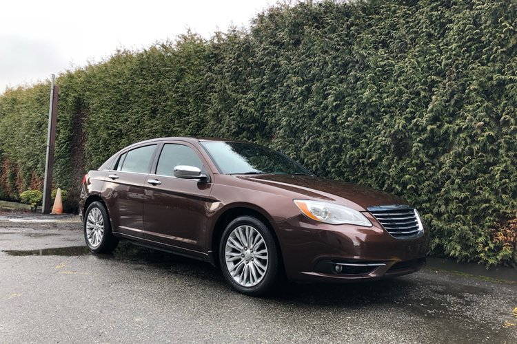 2012 Chrysler 200 Limited for sale in Surrey, British Columbia