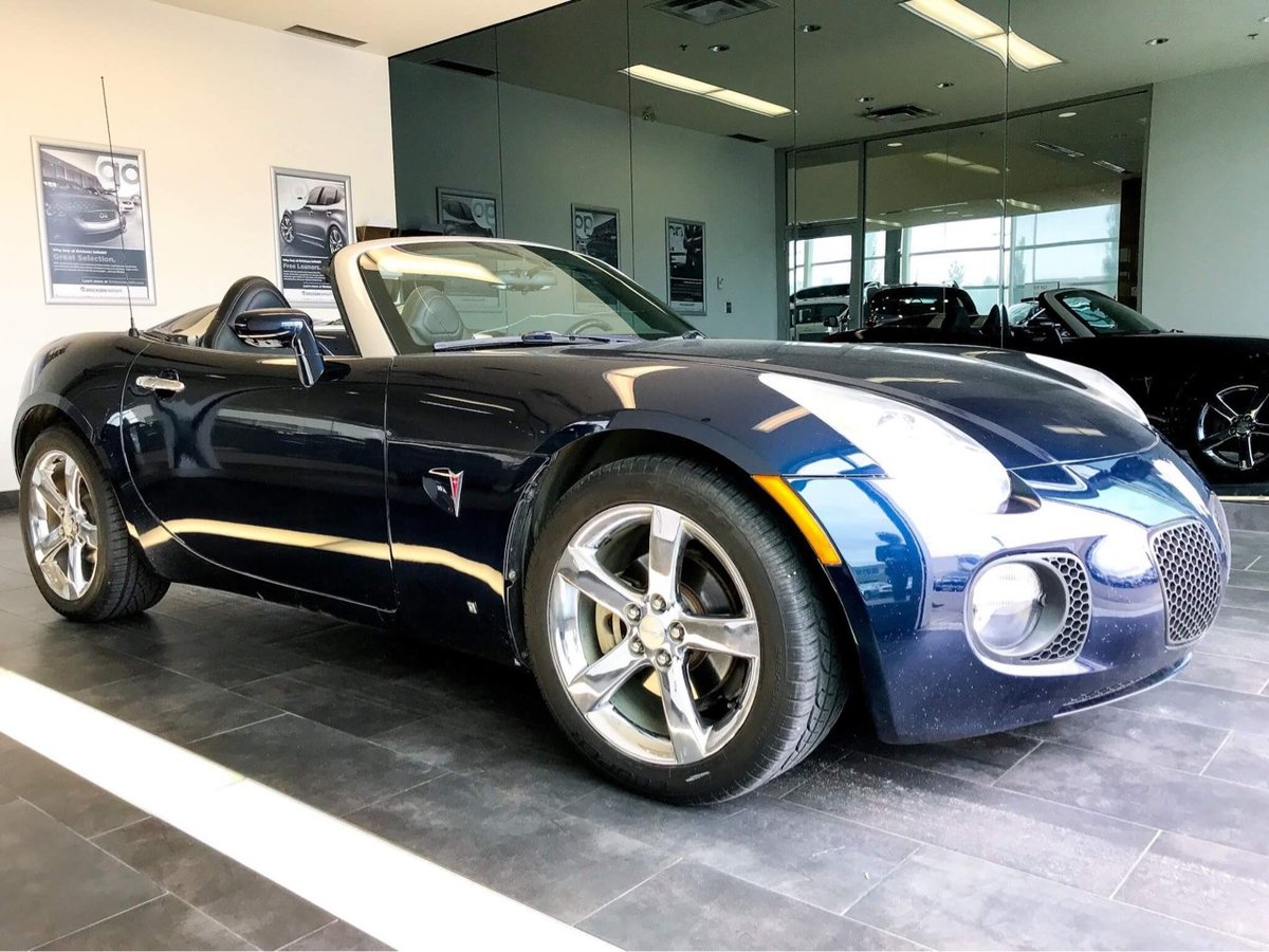 2007 Pontiac Solstice for sale in Edmonton, Alberta