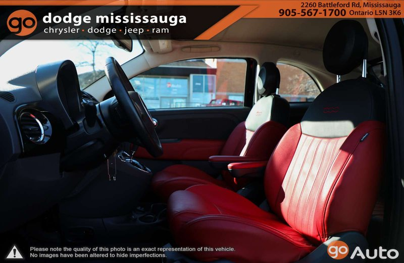 2015 Fiat 500C for sale in Mississauga, Ontario