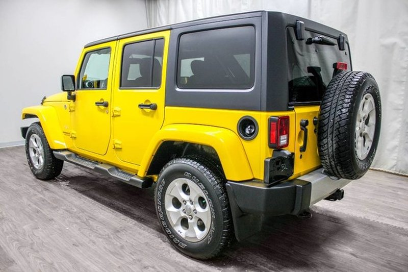 2015 Jeep Wrangler Unlimited for sale in Moose Jaw, Saskatchewan