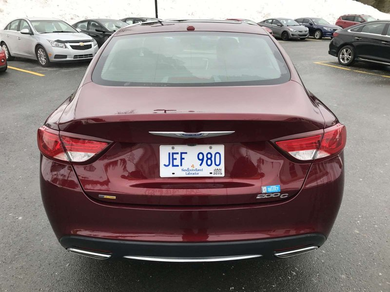 2016 Chrysler 200 for sale in St. John's, Newfoundland and Labrador