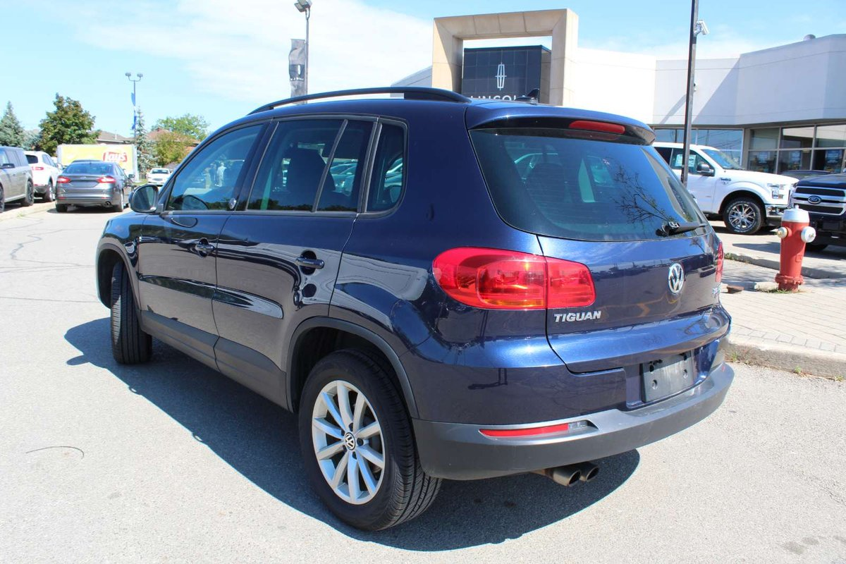 2017 Volkswagen Tiguan for sale in Mississauga, Ontario