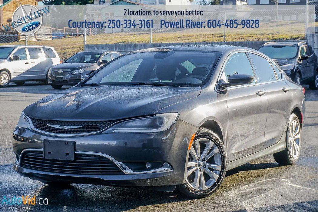 2015 Chrysler 200 For Sale >> 2015 Chrysler 200 For Sale In Courtenay And Powell River